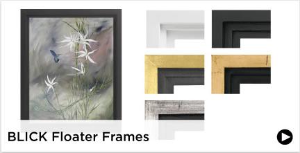 Blick Floater Frames