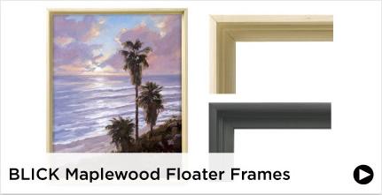 Blick Maplewood Floater Frames