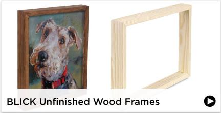 Blick Unfinished Wood Frames