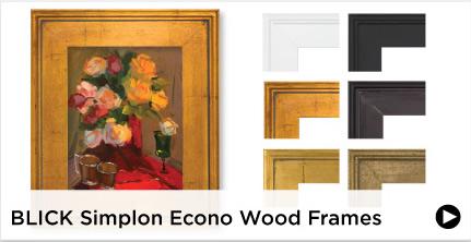 Blick Simplon Econo Wood Frames