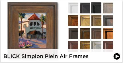 Blick Simplon Plein Air Frames