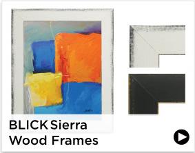 Blick Sierra Wood Frames