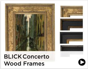 Blick Concerto Wood Frames