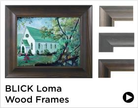 Blick Loma Wood Frames