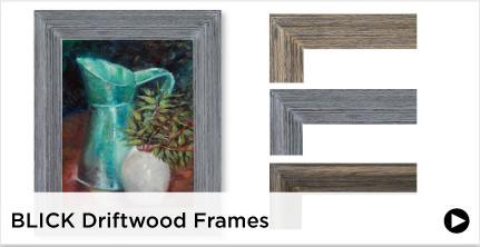 Blick Driftwood Frames