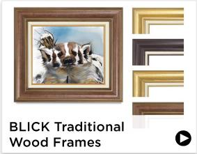 Blick Traditional Wood Frames