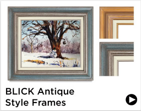 Blick Antique Style Frames