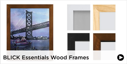 Blick Essentials Wood Frames