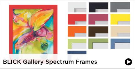 Blick Gallery Spectrum Frames