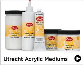 Utrecht Acrylic Mediums