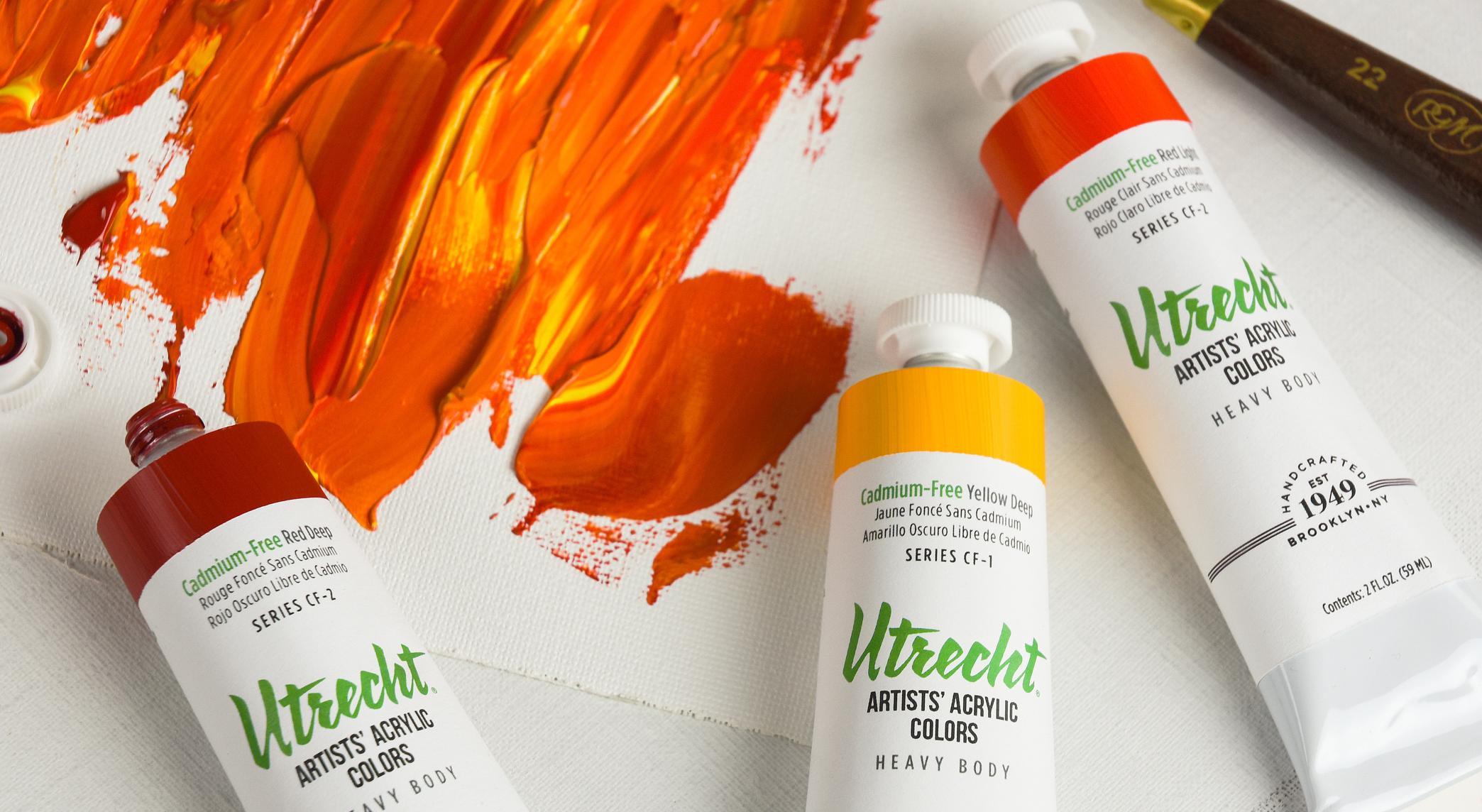 BLICK Art Materials - Utrecht Artists Cadmium Free