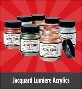 Jacquard Lumiere Acrylics