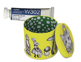 FREE! Yuko Higuchi Collectible Tin when you buy any four 15 ml tubes of Holbein Artists' Watercolor. A $19.95 value!
