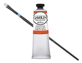 FREE! Princeton Aspen Synthetic Size 4 Bright Brush when you buy $50 worth of Gamblin paints and mediums.