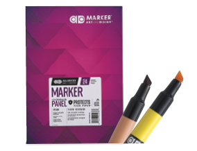 FREE! 10 inch x 7 inch Chartpak Ad Marker Pad when you buy $40 worth of Chartpak Ad Markers.