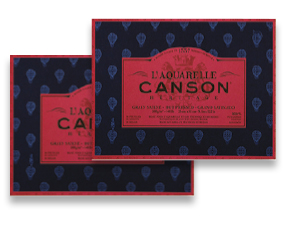 FREE! L'Aquarelle Canson Héritage Watercolor Block when you buy one of the same size and type.