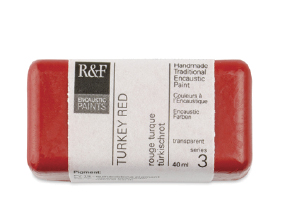 FREE! 40 ml Turkey Red when you buy $30 worth of R&F Encaustic Paints.