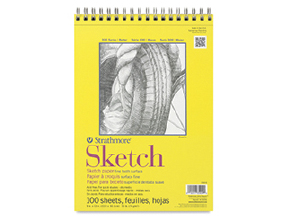 FREE! 9 x 12 Wire Bound Strathmore 300 Series Sketch Pad when you buy one of the same size and type.