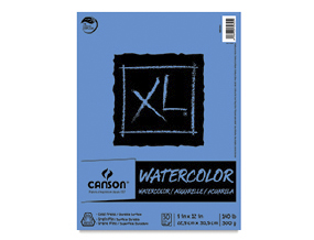 FREE! 9 x 12 Canson XL Watercolor Pad when you buy one of the same size and type.