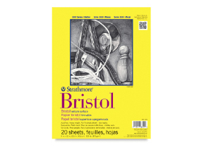FREE! 9 x 12 Strathmore 300 Series Bristol Board Pad when you buy one of the same size and type.
