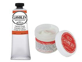 FREE! 2 oz Gamblin Cold Wax Medium when you buy $25 worth of Gamblin Artist's Oil Colors or Mediums.