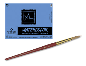 FREE! Princeton Series 4050 Heritage Synthetic Sable Brush Size 6 Round when you buy an 18
