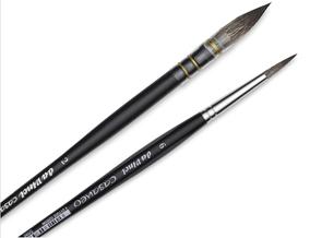 FREE! Da Vinci Casaneo Size 6 Quill Round Wash Watercolor Brush when you buy one Da Vinci Casaneo Size 2 Quill Round Watercolor Brush.