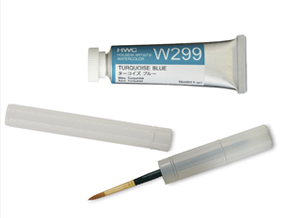 FREE! Holbein Gold #10 Round Brush and Case when you buy any four 15 ml tubes of Holbein Artists' Watercolors.