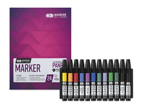 FREE! 12 x 9 Chartpak Ad Marker Pad when you buy a Chartpak Ad Marker Assorted Color Set of 12.