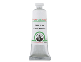 FREE! 40 ml Titanium White when you buy any three tubes of Old Holland Classic Oils.