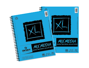 FREE! 9 x 12 Canson XL Mix Media Pad  when you buy one of the same size.