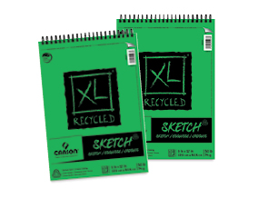 FREE! 9 x 12 Canson XL Reycled Sketch Pad   when you buy one of the same size.