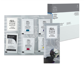 FREE! Winsor & Newton Artists' Oil Colors Sample Pack when you buy any Winsor & Newton Canvas.