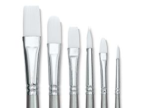 FREE! Liquitex Basics Brush Set of 6 when you buy any six individual Liquitex Basics Acrylic Colors.