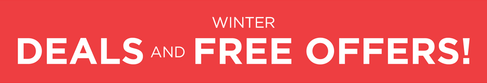WINTER DEALS AND FREE OFFERS