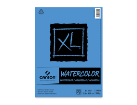 "Buy one 9"" x 12"" Canson XL Watercolor Pad, Get one free of the sames size and type."