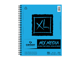 "Buy one 9"" x 12"" Canson XL Mixed Media Pad, Get one of the same size and type free."