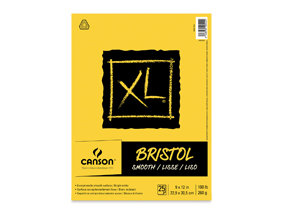 "Buy one 9"" x 12"" Canson XL Bristol, Smooth. Get one free of the same size and type. (13337-1023). Limit one per customer, while supplies lasts."