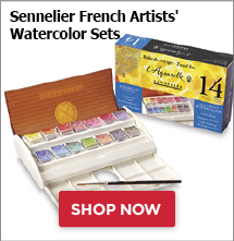 Sennelier French Artists Watercolor Sets