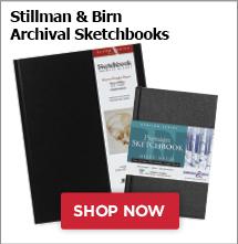 Stillman and Birn Archival Stetchbooks
