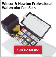 Winsor and Newton Professional Watercolor Pan Sets