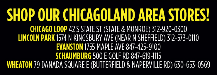 Shop our Chicagoland Area Stores - Chicago Loop, Lincoln Park, Evanston, Schaumburg, Wheaton