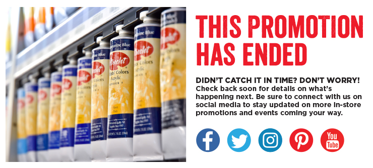 Sorry! This promotion has expired. Connect with us on social media to learn more about upcoming in-store promotions and events!