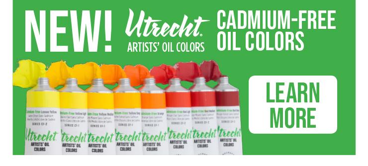 Utrecht Cadmium-Free Oil Colors - Learn More