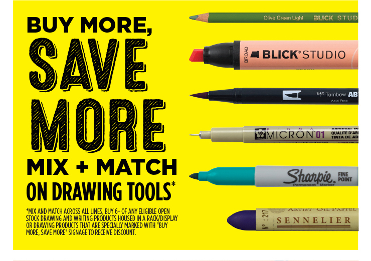 Buy More, Save More - Mix and Match on Drawing Tools