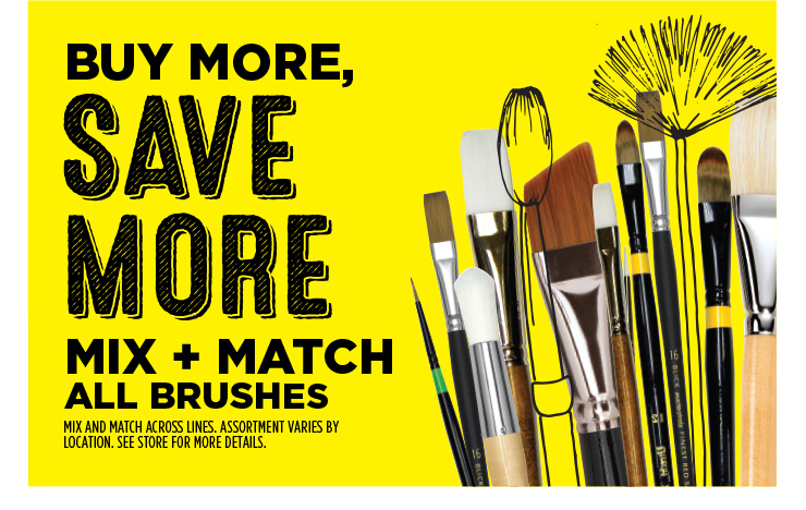 Buy More, Save More - Mix and Match all brushes