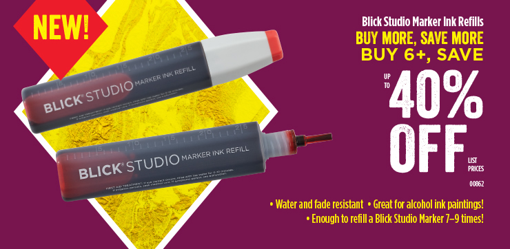 Blick Studio Marker Ink Refills 40%