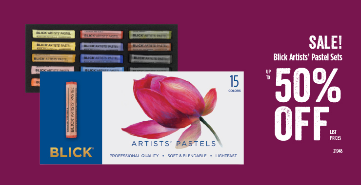 Blick Artists Pastel Sets 50%