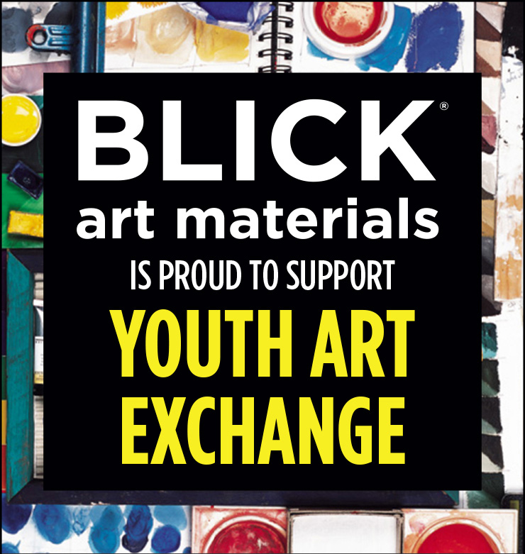 BLick Art Materials is proud to support Youth Art Exchange