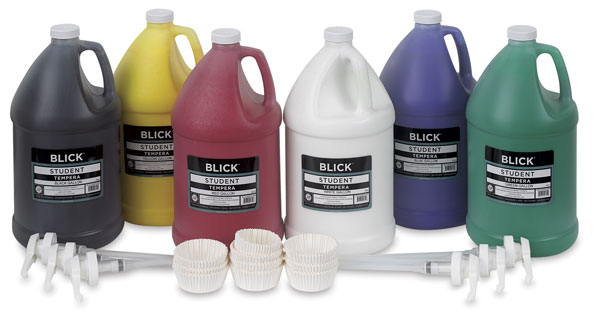 6-Color Pump Kit, Gallons